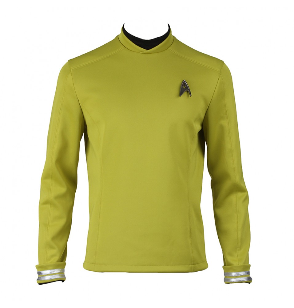 Star Trek Beyond James Tiberius Kirk Hikaru Sulu Uniform Cosplay Costume