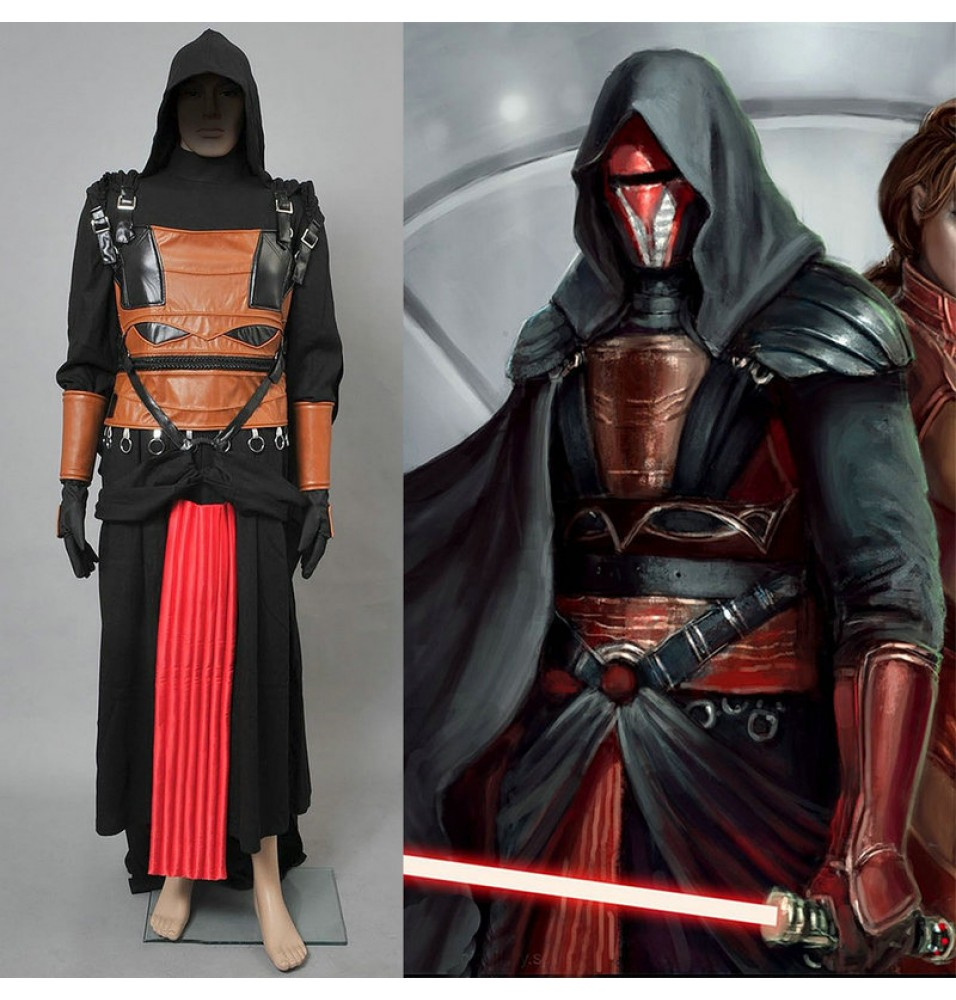 Star Wars Darth Revan Cosplay Costumes Quality Costume