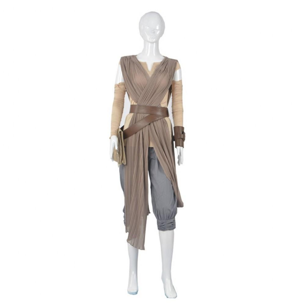 Star Wars The Force Awakens Rey Cosplay Deluxe Costume