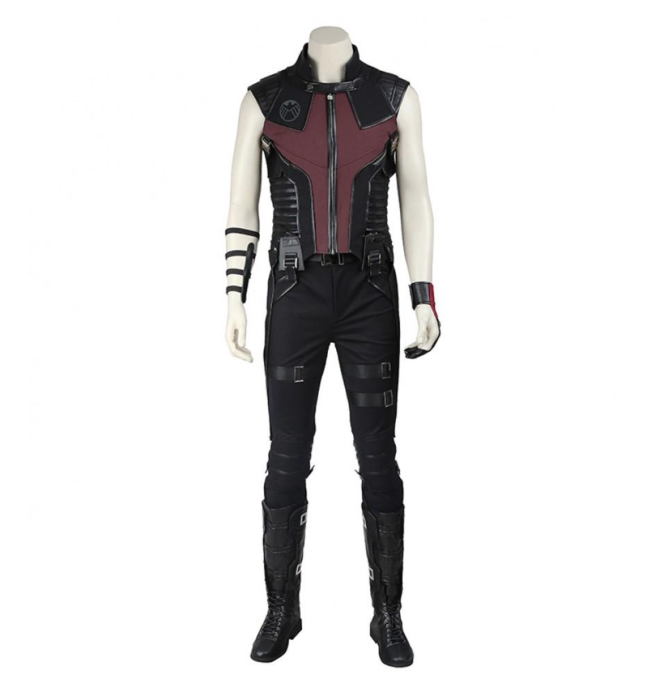 The Avengers Hawkeye Clint Barton Cosplay Costume