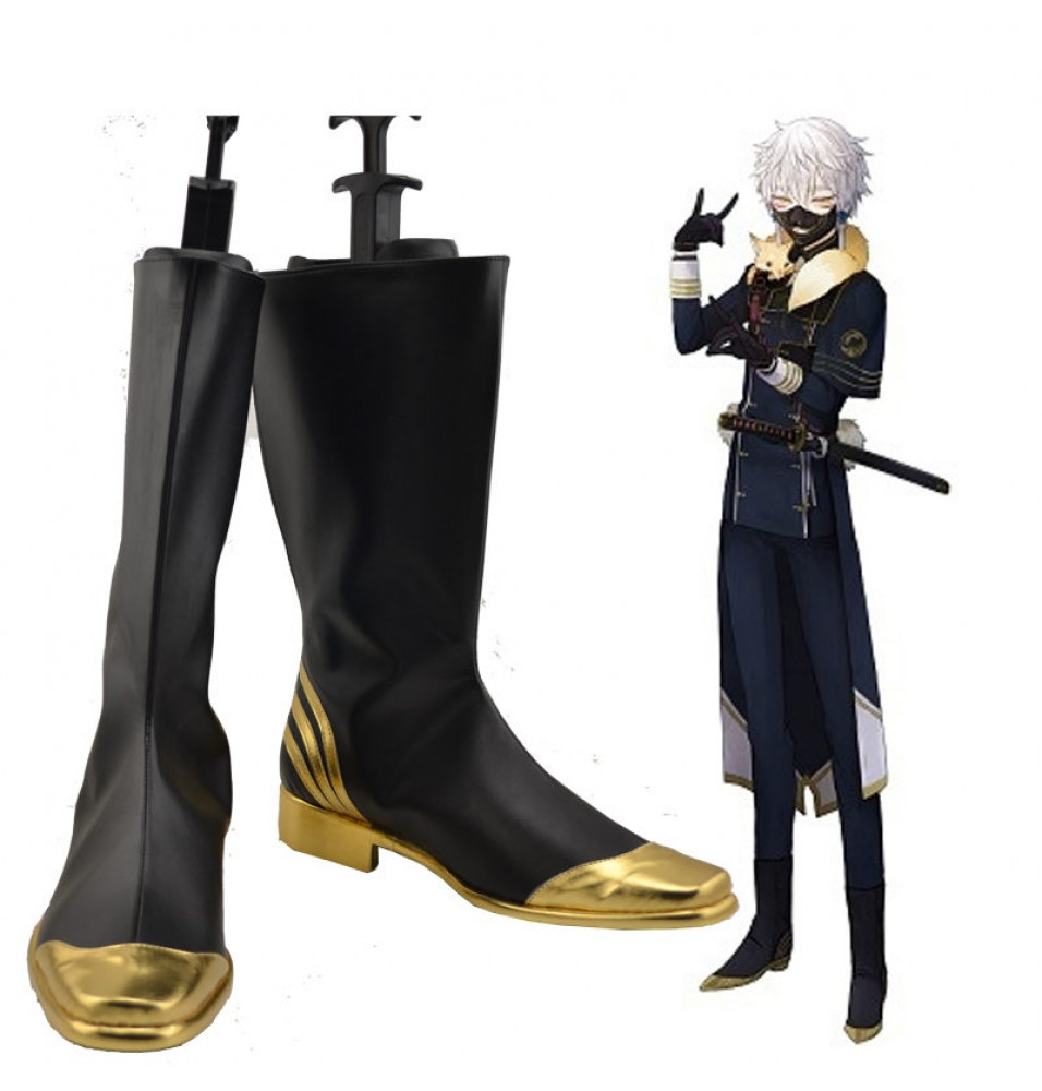 Touken Ranbu Online Nakigitsune Cosplay Boots