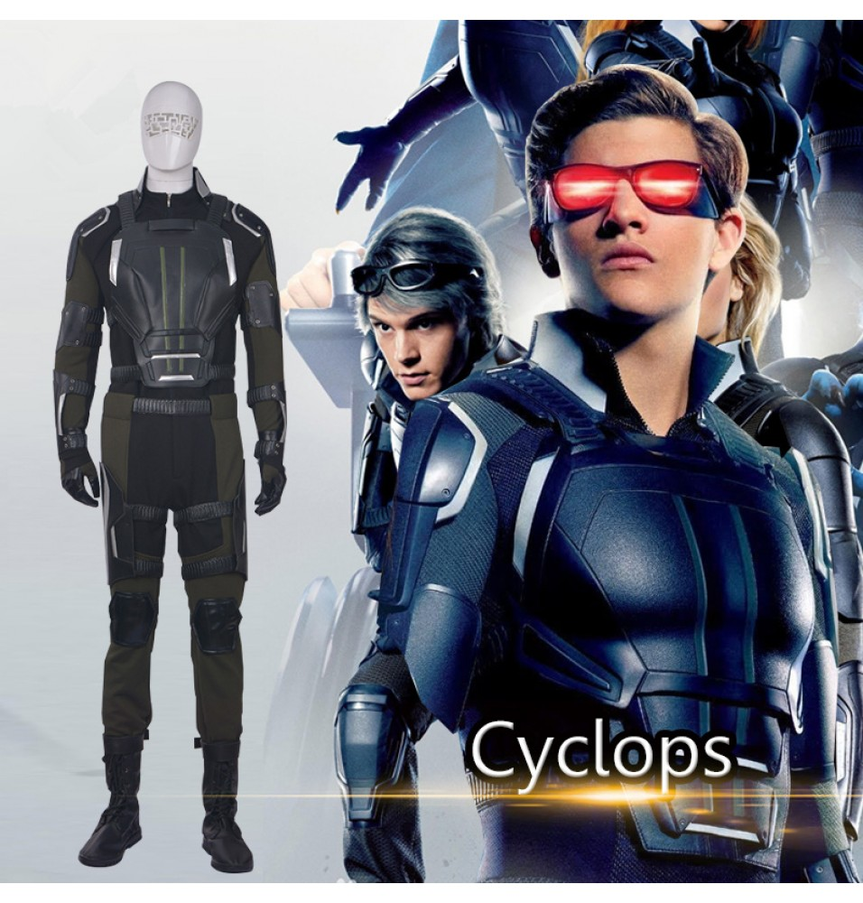 X-Men Apocalypse Cyclops Cosplay Costume Scott Summers Cosplay Outfit
