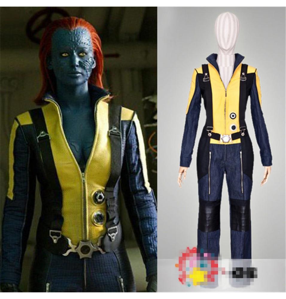 X-Men: First Class Mystique Uniform Cosplay Costume