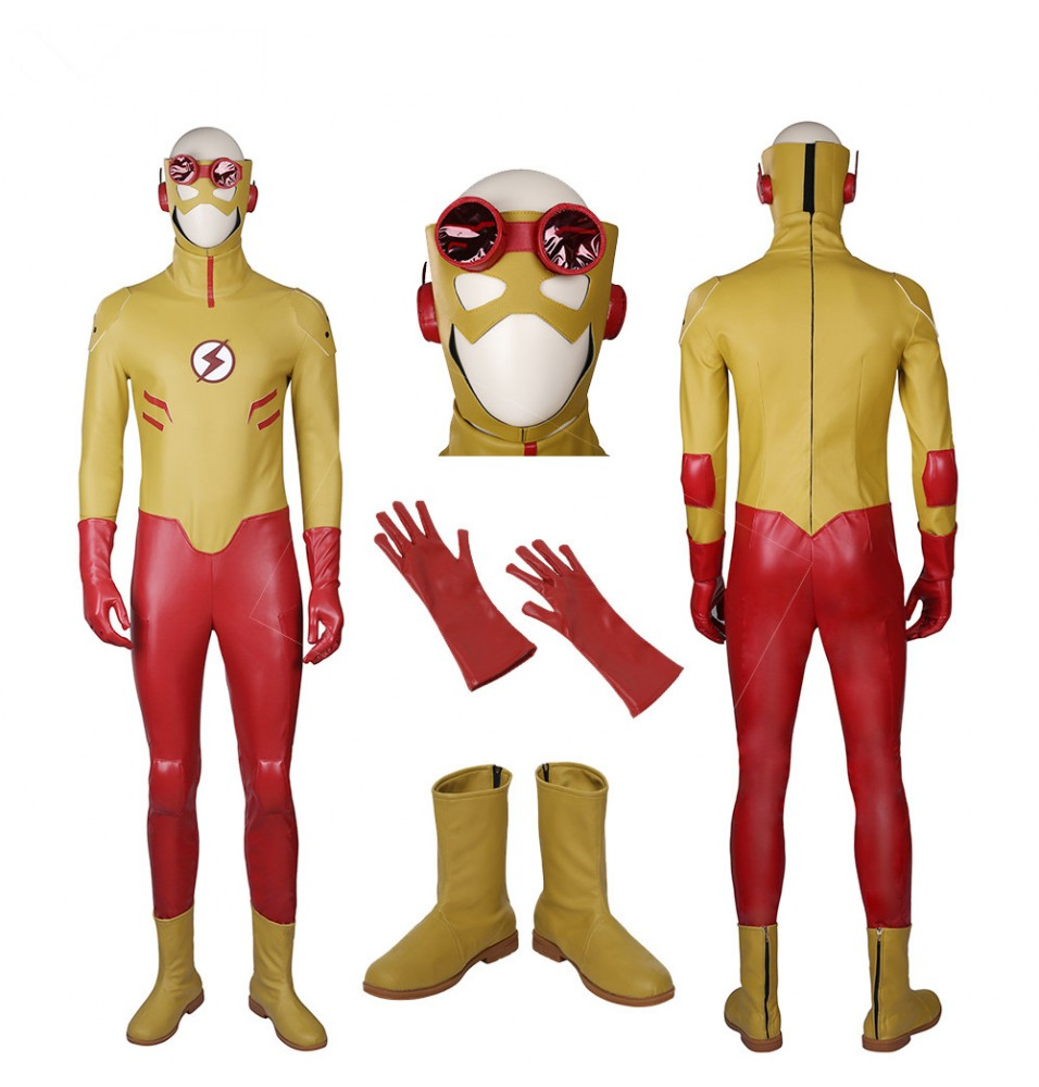 Young Justice Kid Flash Cosplay Costumes