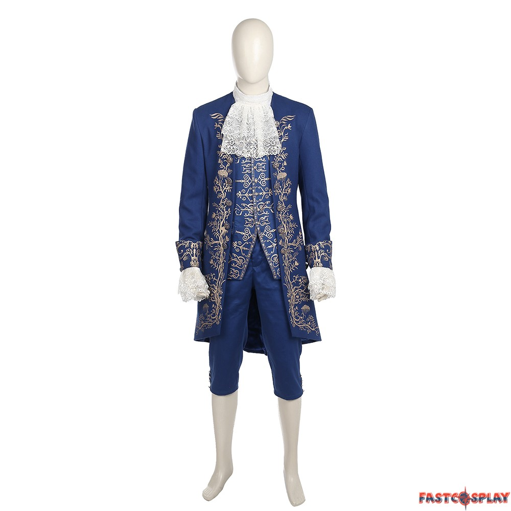 2017 Disney Beauty And The Beast Prince Beast Costume Cosplay - Deluxe Version  sc 1 st  FastCosplay : beauty beast costume  - Germanpascual.Com