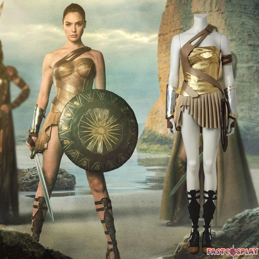 Wonder woman pants costume-3143