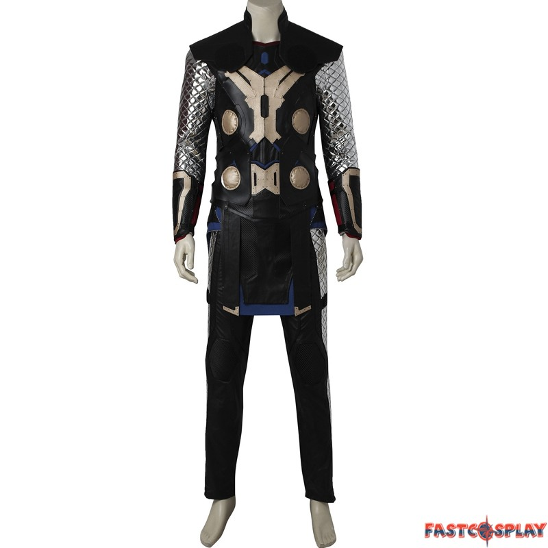 avengers age of ultron thor cosplay costume hammer boots full set