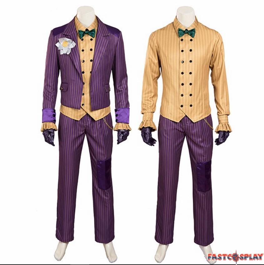 sc 1 st  FastCosplay & Arkham Asylum Joker Cosplay Costumes