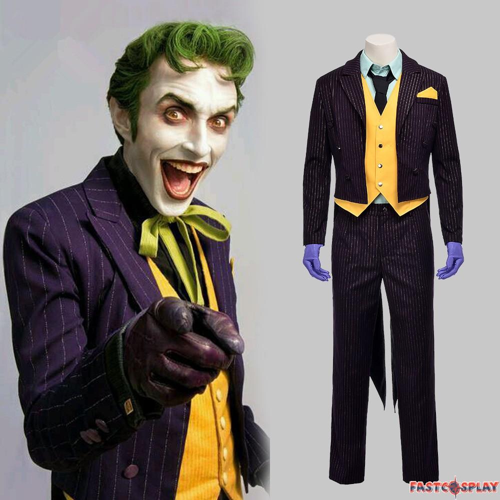 sc 1 st  FastCosplay & Arkham Asylum Joker Costume Cosplay Outfit