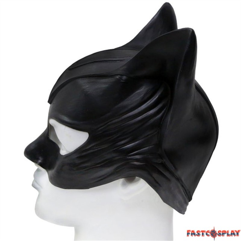 3f590d0123 Catwoman Cosplay Latex Mask