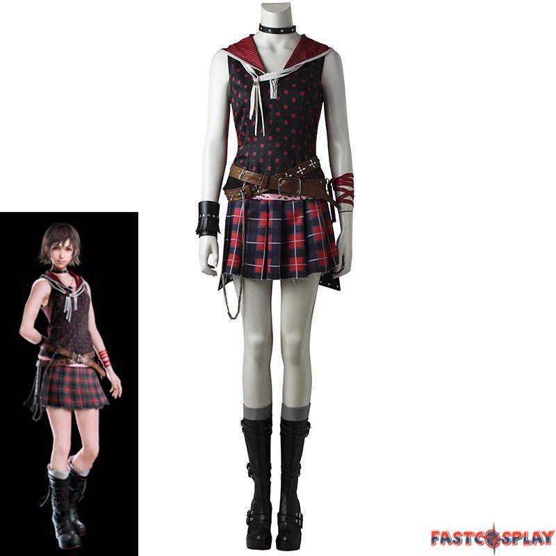 Iris Amicitia Final Fantasy XV FF 15 Dress Outfit Cosplay