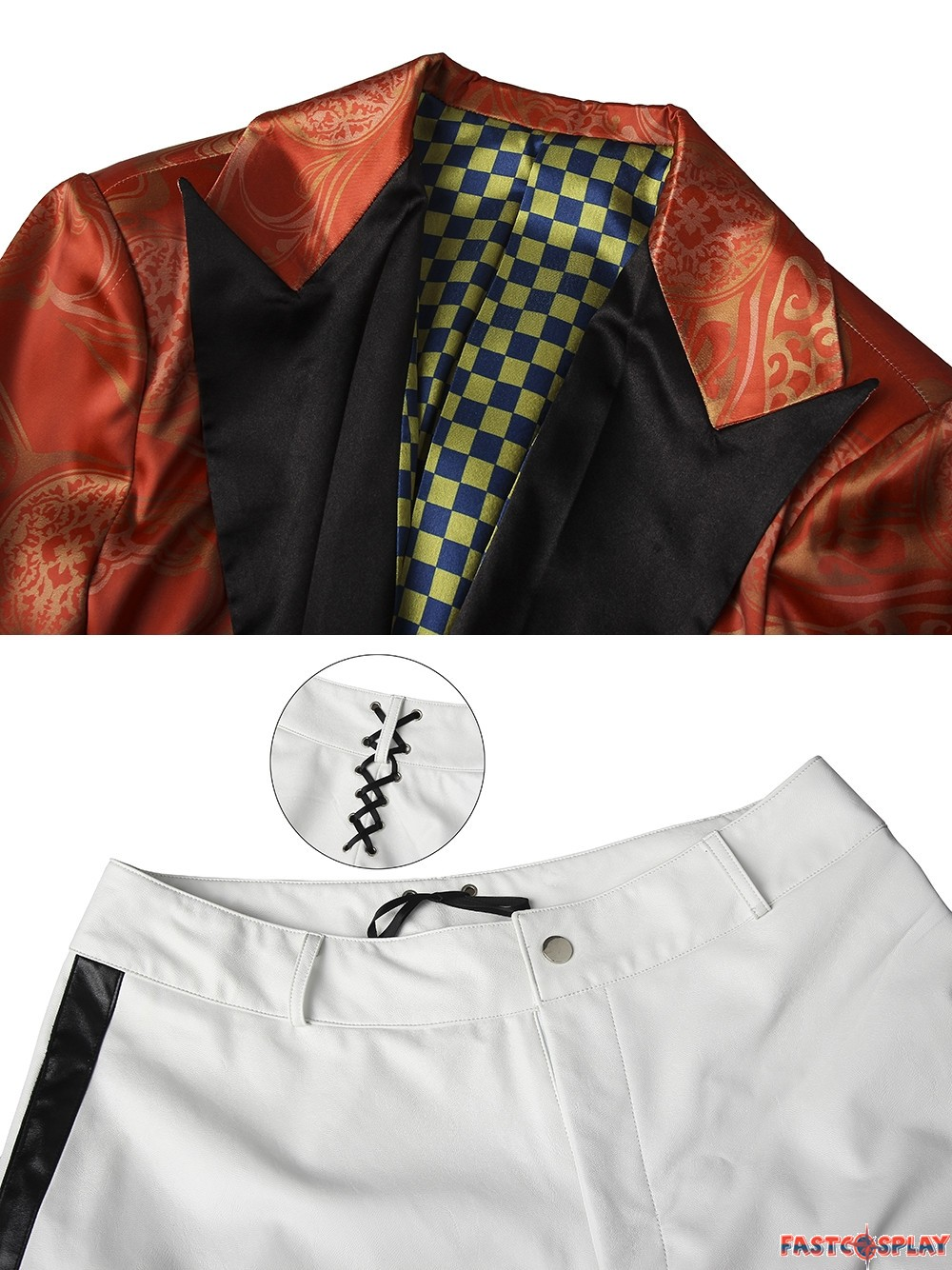Gotham Joker Jerome Valeska Cosplay Costume Deluxe Version