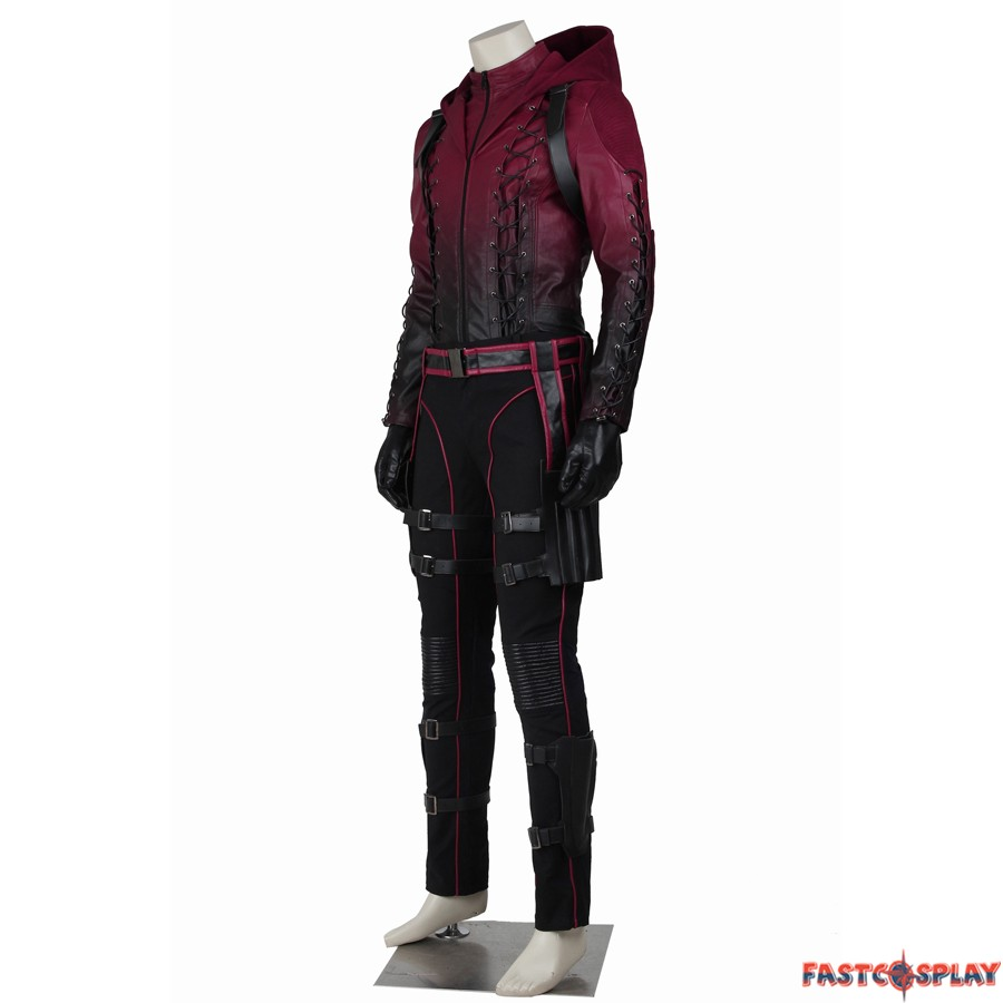 sc 1 st  FastCosplay & Green Arrow Season 3 Red Arrow Roy Harper Cosplay Costume