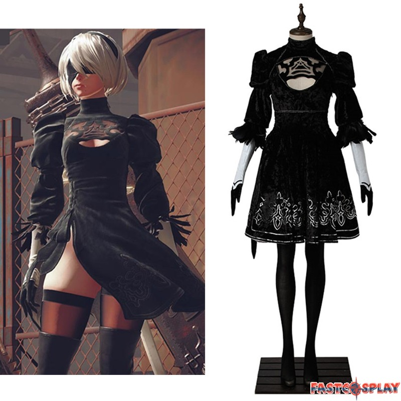 Premise Indicator Words: NieR: Automata 2B Costume YoRHa No.2 Type B Cosplay