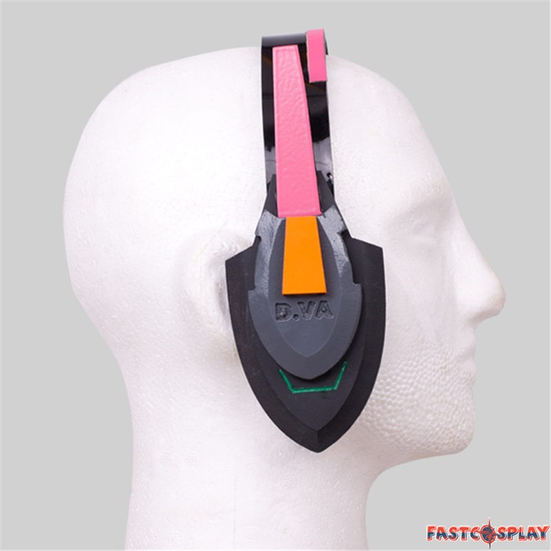 D va cosplay headset