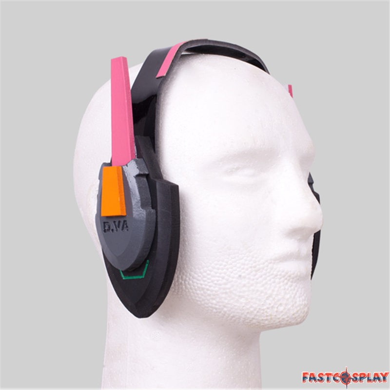 D va cosplay headset