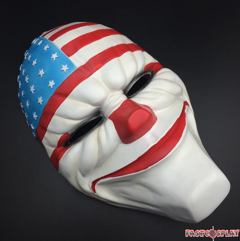 Payday 2 Dallas Cosplay Mask