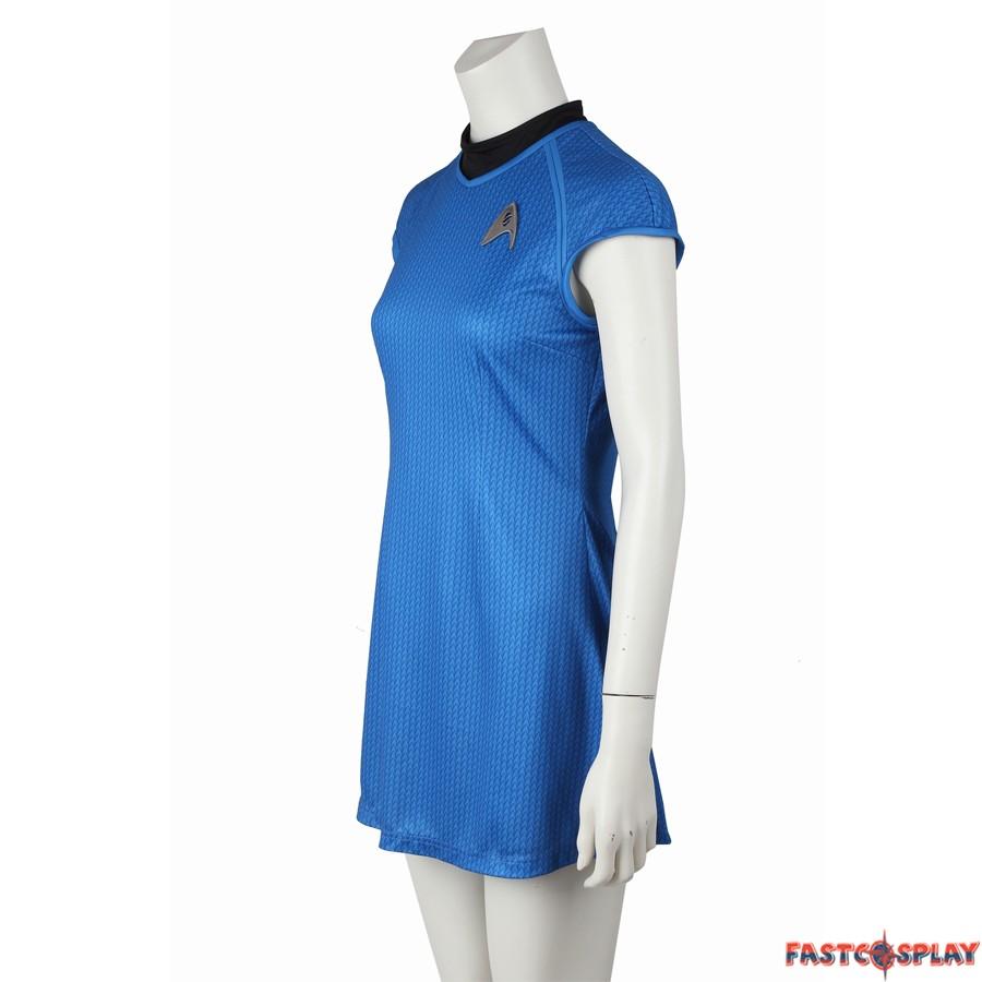 sc 1 st  FastCosplay & Star Trek Into Darkness Carol Marcus Blue Dress Uniform Costume