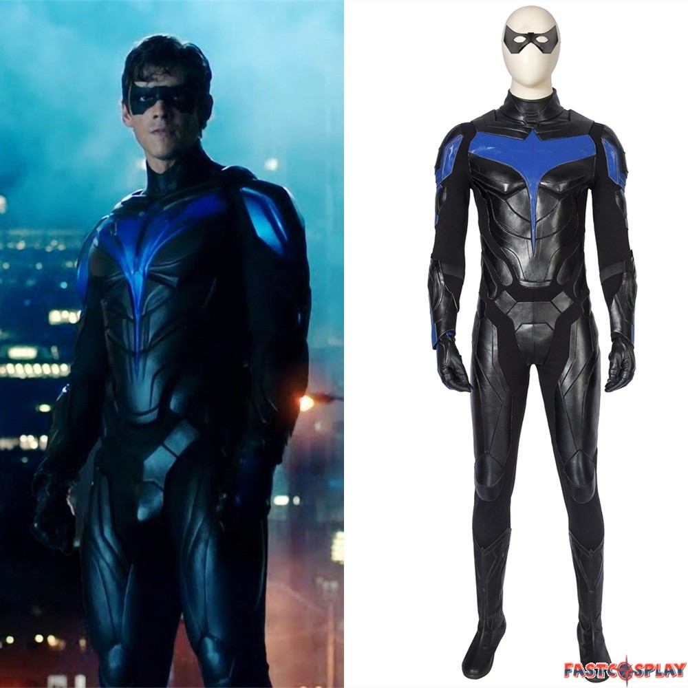 Titans Nightwing Cosplay Costume Nightwing Cosplay Ault for Men Nightwing costume