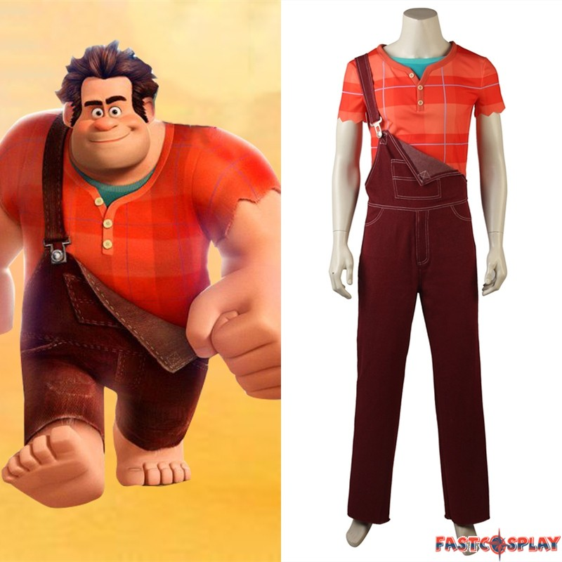 huge selection of f6447 02c0a Wreck-It Ralph 2 Ralph Cosplay Costume