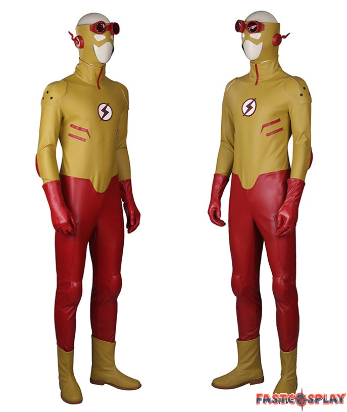 sc 1 st  FastCosplay & Young Justice Kid Flash Cosplay Costumes