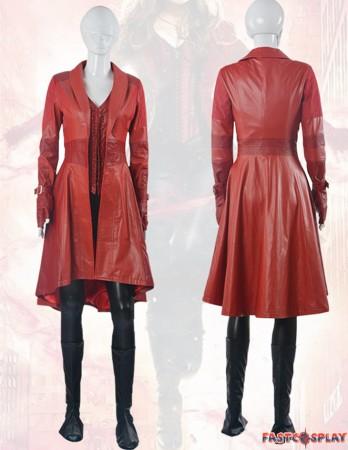 Civil War Wanda Maximoff Scarlet Witch Cosplay Costume