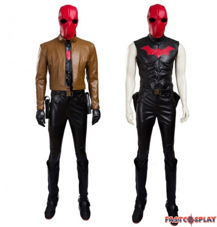 Batman Jason Todd Robin Red Hood Cosplay Costumes