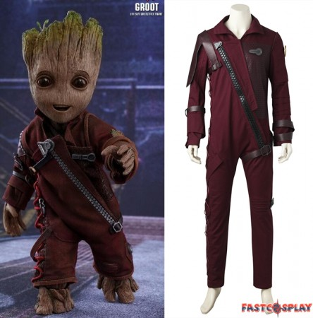 Guardians of The Galaxy 2 Baby Groot Cosplay Costume Deluxe Version
