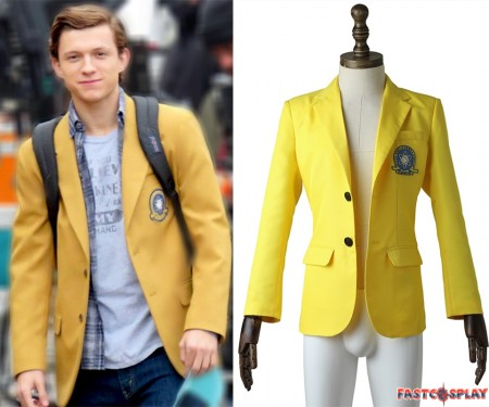Spider-Man Homecoming Spider Man Cosplay Coat