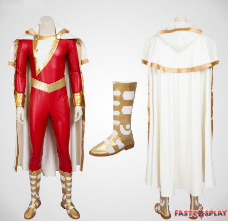 DC Justice League Shazam Cosplay Costumes Deluxe Version