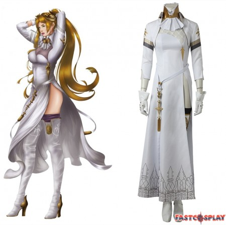 NieR Automata Commander Cosplay Costume Dress Deluxe Version