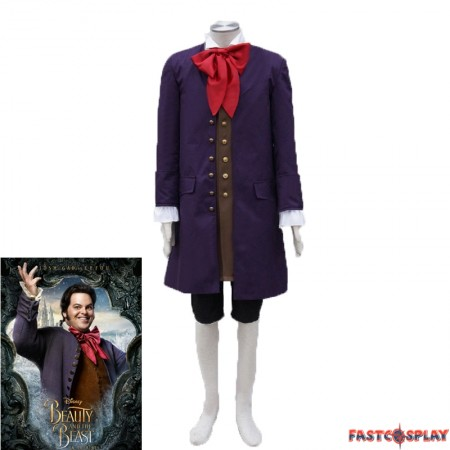 2017 Disney Movie Beauty And The Beast Lefou Costume Cosplay