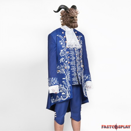 2017 Disney Movie Beauty and the Beast Prince Cosplay Costume