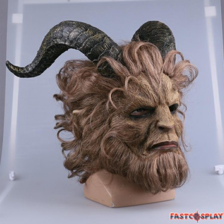 2017 Disney Movie Beauty and the Beast Prince Cosplay Mask