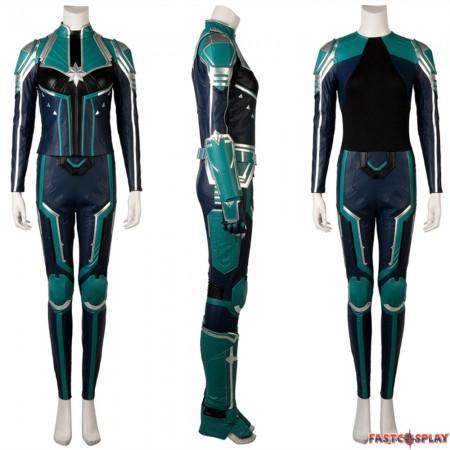 2019 Captain Marvel Carol Danvers Cosplay Costume