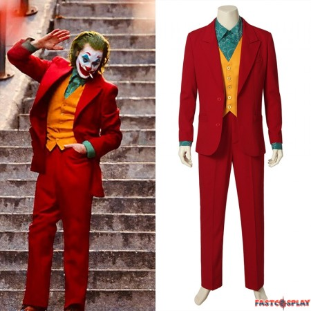 2019 Movie Joker Cosplay Costume Suit