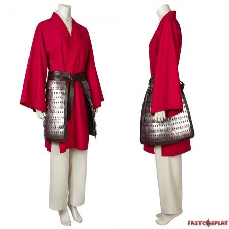 2020 Mulan Hua Mulan Cosplay Costume