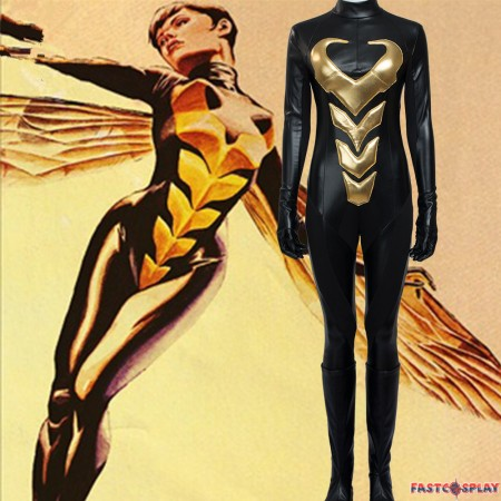 Antman and The Wasp Female Wasp Jumpsuits Cosplay Costume