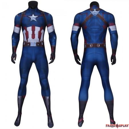Avengers: Age of Ultron Captain America 3D Jumpsuit