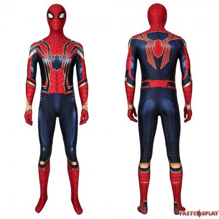 Avengers: Endgame Iron Spiderman 3D Zentai Jumpsuit