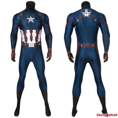 Avengers: Endgame Steven Rogers Captain America 3D Jumpsuit