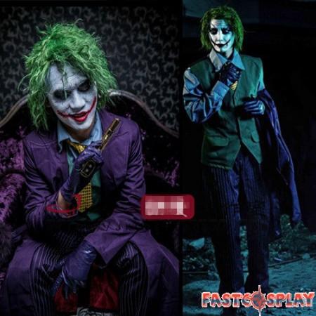 Batman The Dark Knight Joker Cosplay Deluxe Costume