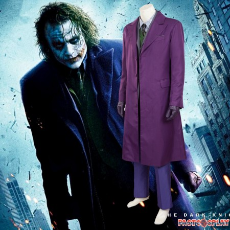 Batman The Dark Knight Joker Cosplay Costume