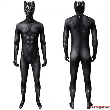 Black Panther T'Challa 3D Jumpsuit