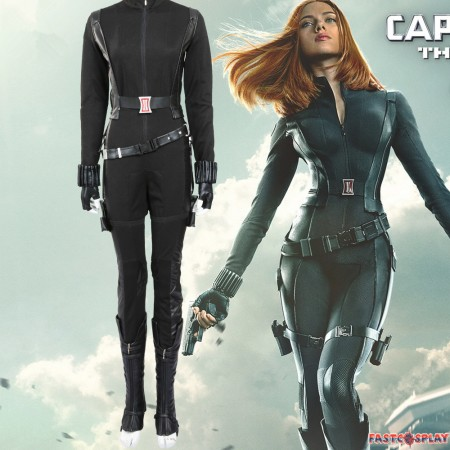 Natasha Romanoff Black Widow Cosplay Costume