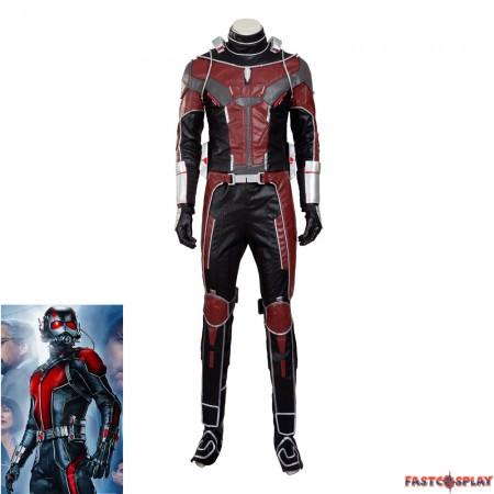 Civil War Scott Lang Ant-Man Cosplay Costume