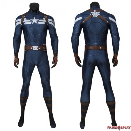 Captain America: The Winter Soldier Steve Rogers 3D Jumpsuit