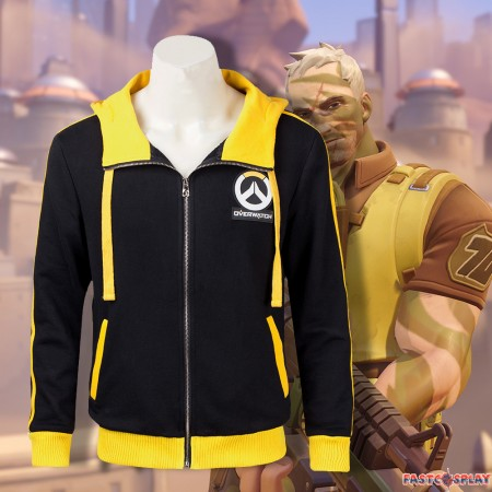 Chic New Soldier 76 Jacket Hoodie Cosplay Costume
