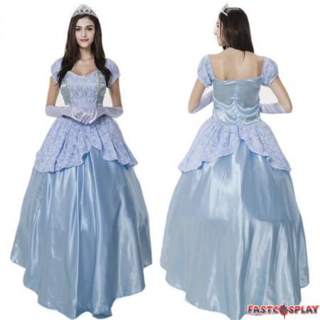 Disney Cinderella Adult Fancy Dress Cosplay Costume