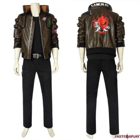Cyberpunk 2077 V Male Cosplay Costume
